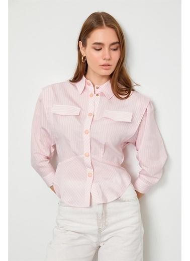 Setre Gömlek Pembe